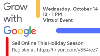 Wednesday, October 14 12-1pm Virtual Event