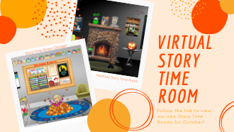 Virtual Story Time Rooms for October!